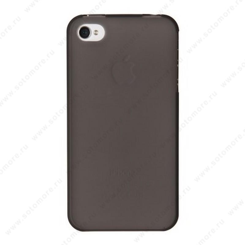 Накладка XINBO пластиковая для iPhone 4s/ 4 черная