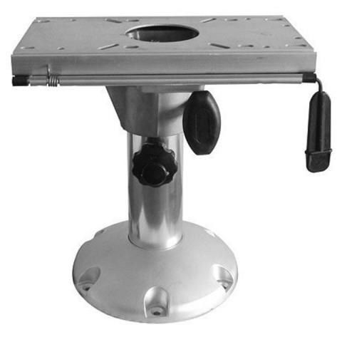 Стойка для сидений раздвижная 330 - 430 мм, c переходником, алюминий