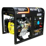 Бензиновый генератор Huter DY6500LXW - фотография