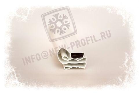 Уплотнительный профиль_009 (тип МА) для холодильного оборудования.