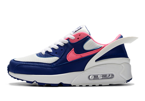 Nike Air Max 90 FlyEase 'Blue/White/Red'