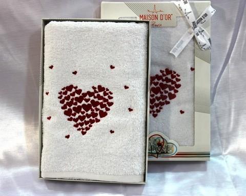 AMAUR  АМАУР полотенце махровое в коробке Maison Dor Турция
