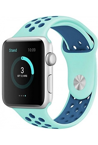 Ремешок Apple watch 42/44mm Sport Nike /mint blue/ мятный синий