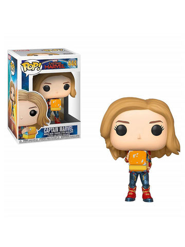 Фигурка Funko POP! Bobble: Marvel: Captain Marvel: Captain Marvel w/Lunch Box 37685
