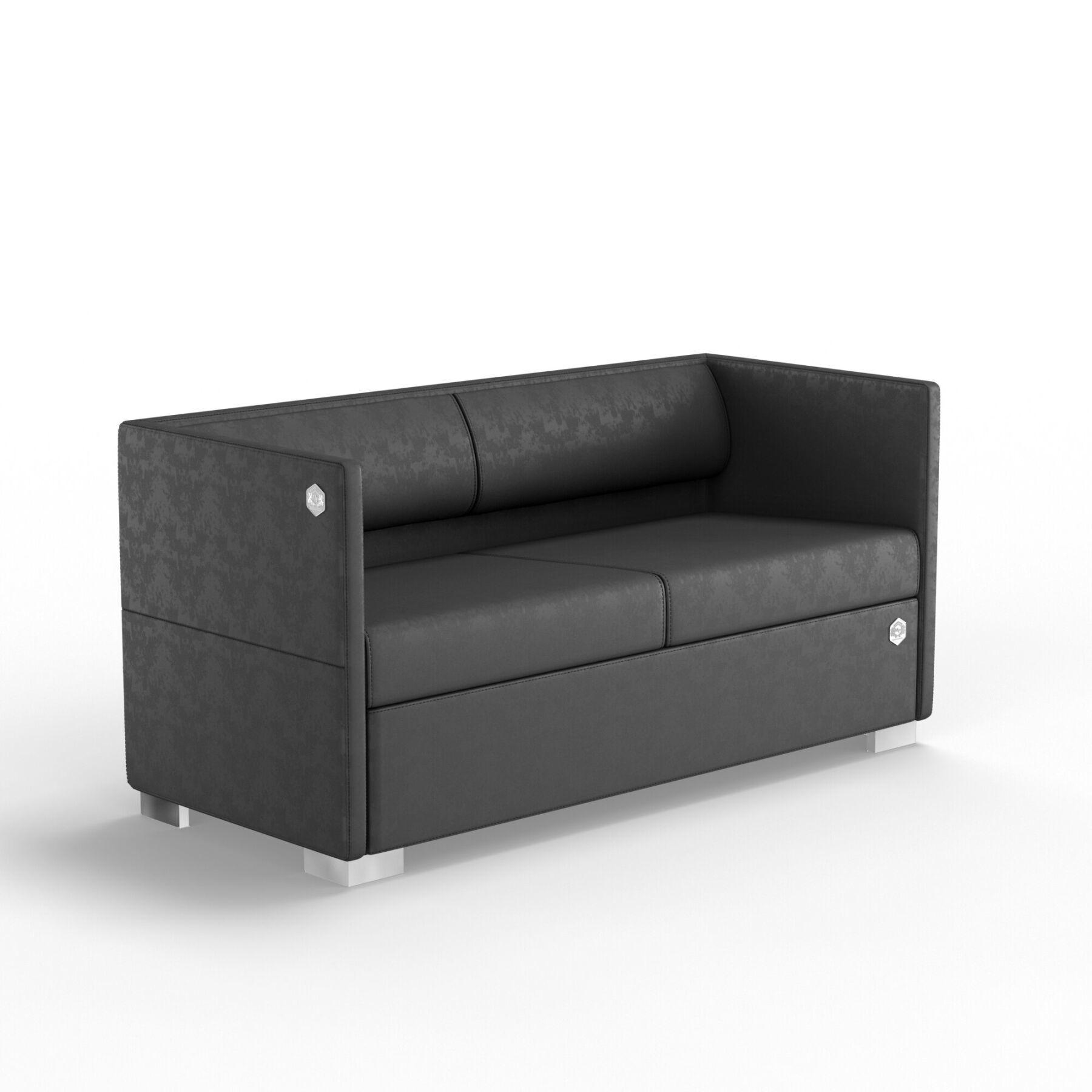Двухместный диван KULIK SYSTEM LOUNGE Антара 2
