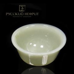 Чашка для чая (гайвань). Белый нефрит.