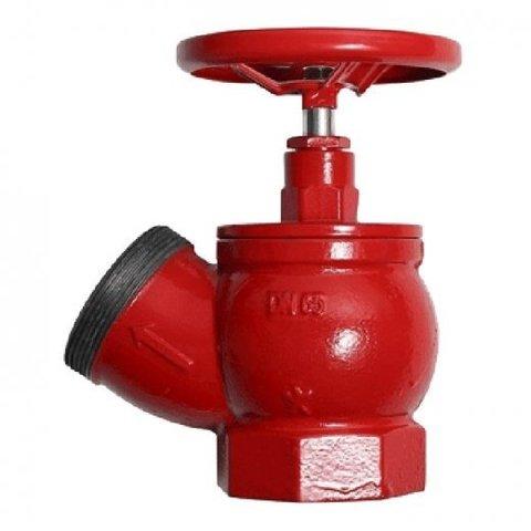 Клапан ПК-50 муфта/цапка чугун угловой 125