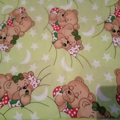 Комплект постельного белья Спящие Мишки