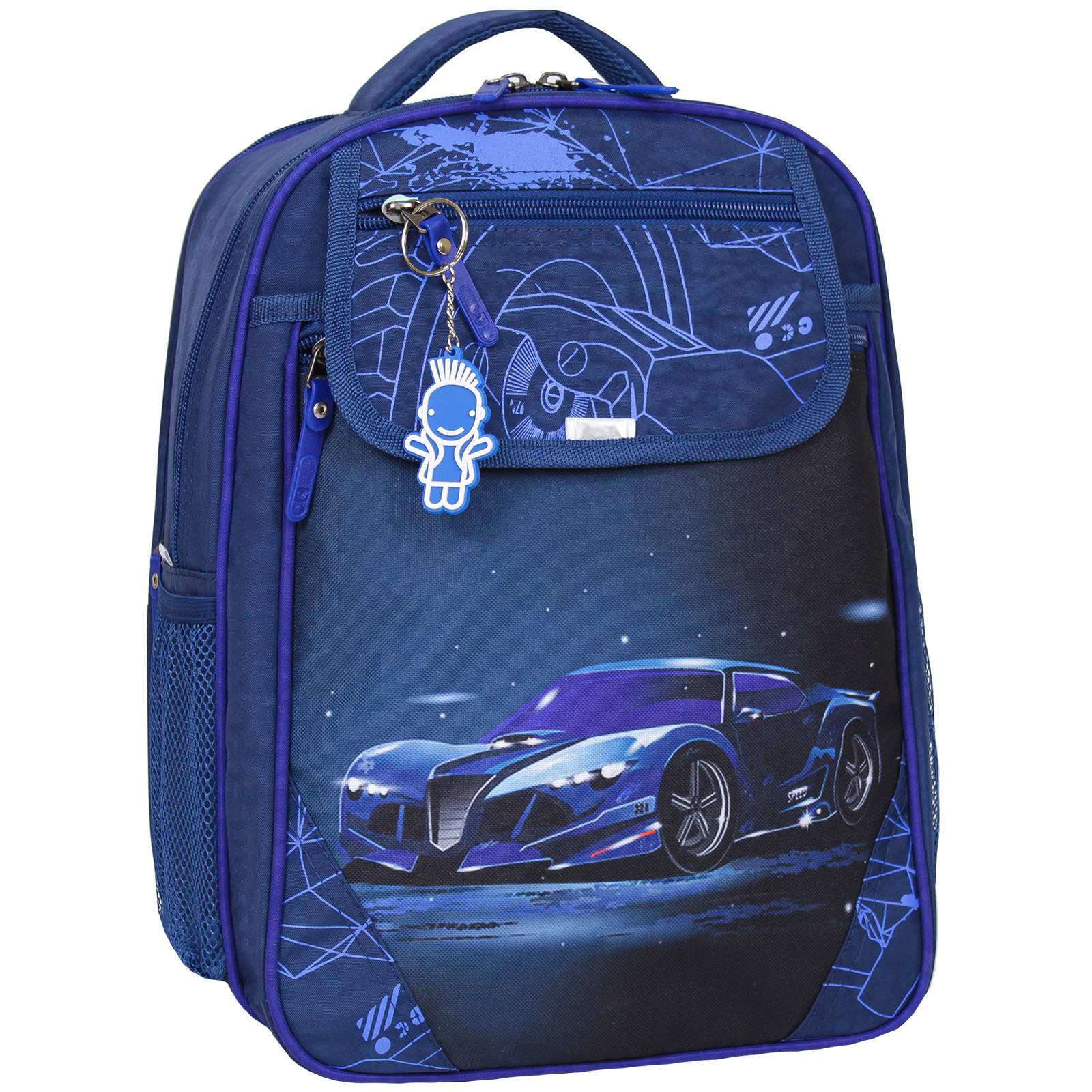 Школьные рюкзаки Рюкзак школьный Bagland Отличник 20 л. 225 синий 248к (0058070) 1600IMG_5517_248к.jpg