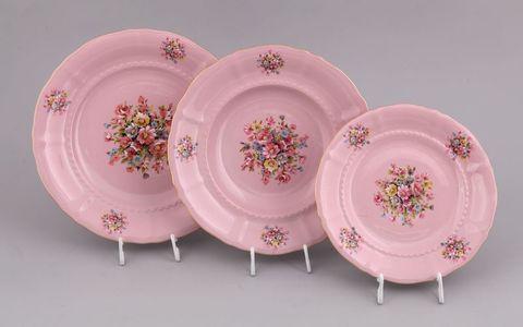 Весенние цветы розовый фарфор