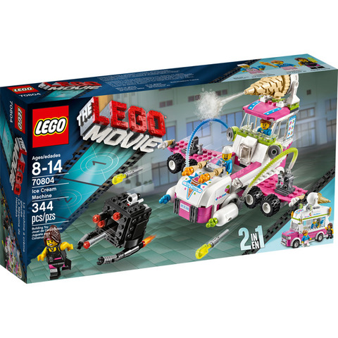 LEGO Movie: Машина с мороженым 70804 — Ice Cream Machine — Лего Муви Фильм