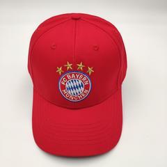 Кепка с логотипом ФК Бавария (Бейсболка FC Bayern Munchen) красная