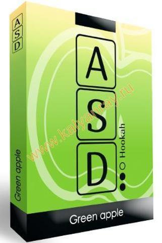 Бестабачная смесь ASD Hookah - Зеленое Яблоко