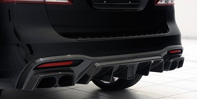 Обвес Brabus для Mercedes GLE 63 AMG W166