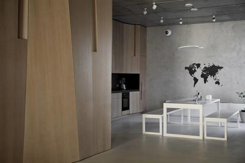 Карта мира Wall Decoration Black 130 x 78 cm