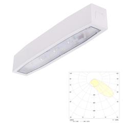 Светильник аварийного освещения накладной асимметричный для путей эвакуации Suprema LED SСA NT IP54 Intelight