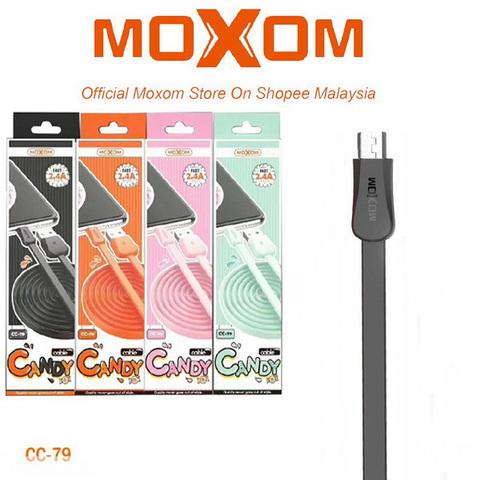 Кабель microUSB Moxom CC-79, 1m., black