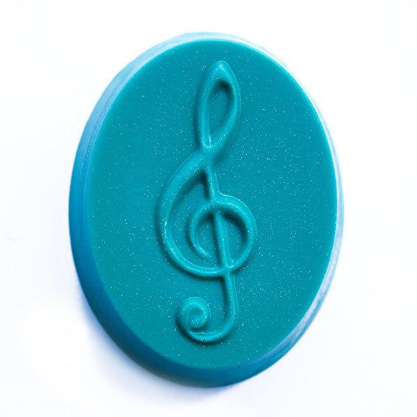 Форма для мыла Скрипичный ключ