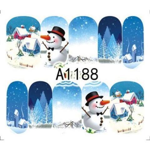 Новогодний слайдер A-1188