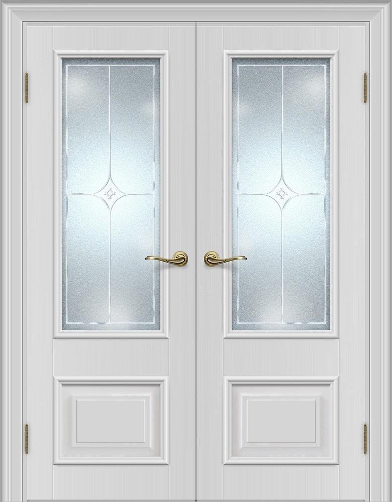 Межкомнатная дверь Louisa L19.2 под стекло