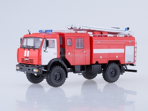KAMAZ-43502 AC-3-40 Fire-fighting tanker 1:43 PAO KAMAZ