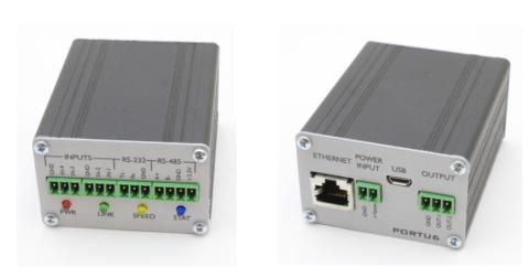 Конвертер интерфейсов  Portu6 RS232/485/GPIO-Ethernet