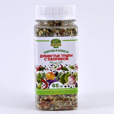Душистые травы с паприкой Organic food, 65г