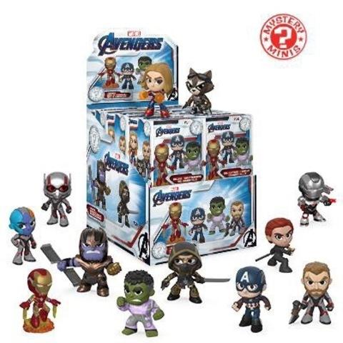 Фигурка Funko Mystery Minis: Marvel: Avengers Endgame: 12PC PDQ 37200 (1 шт.)