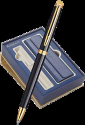 Подарочный набор с чехлом и шариковой ручкой  Waterman Hemisphere Mars цвет: Black GT123