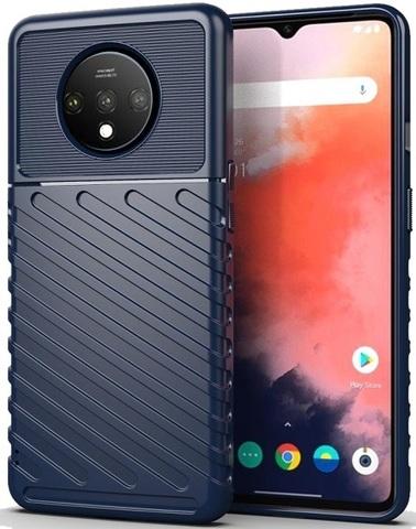 Чехол OnePlus 7T цвет Blue (синий), серия Onyx, Caseport