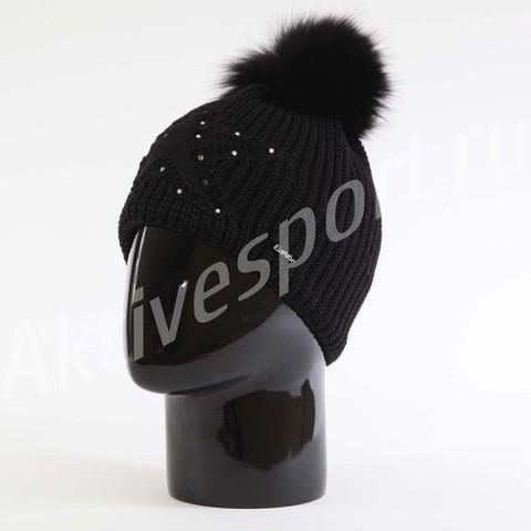 Картинка шапка Eisbar chantal fur crystal 009