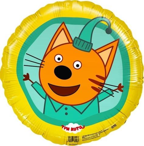 Фольгированный шар Три кота Компот