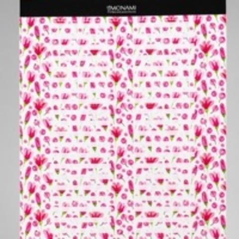 Наклейки на типсы «Цветы розовые»