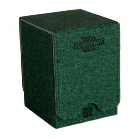 Blackfire Convertible Premium Deck Box Single Vertical 100+ Standard Size Cards - Green