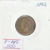 F290, 1862, США, 1 цент