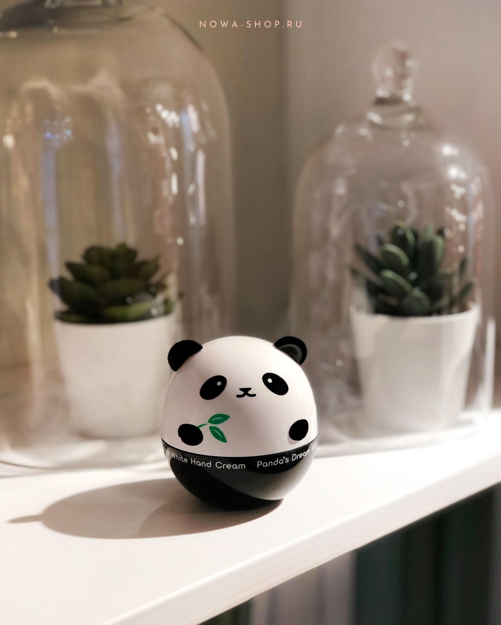 Tony Moly Panda's Dream White Hand Cream - Обладающий осветляющим эффектом питательный крем для рук