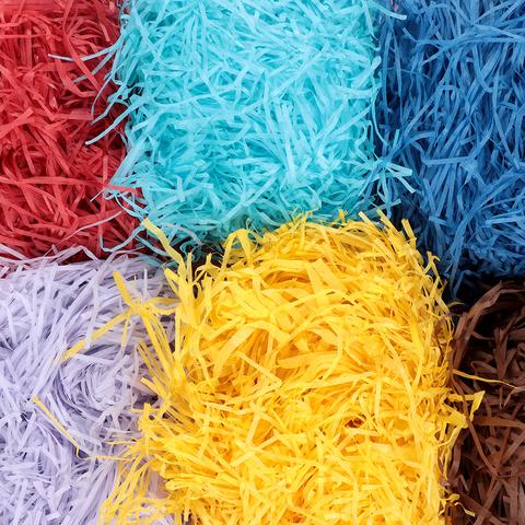 Ассорти из бумажных цветных наполнителей (6шт*50гр. на выбор)