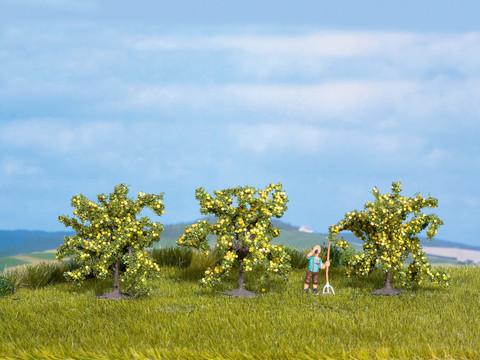 Лимонные деревья - 3шт, (4 см)