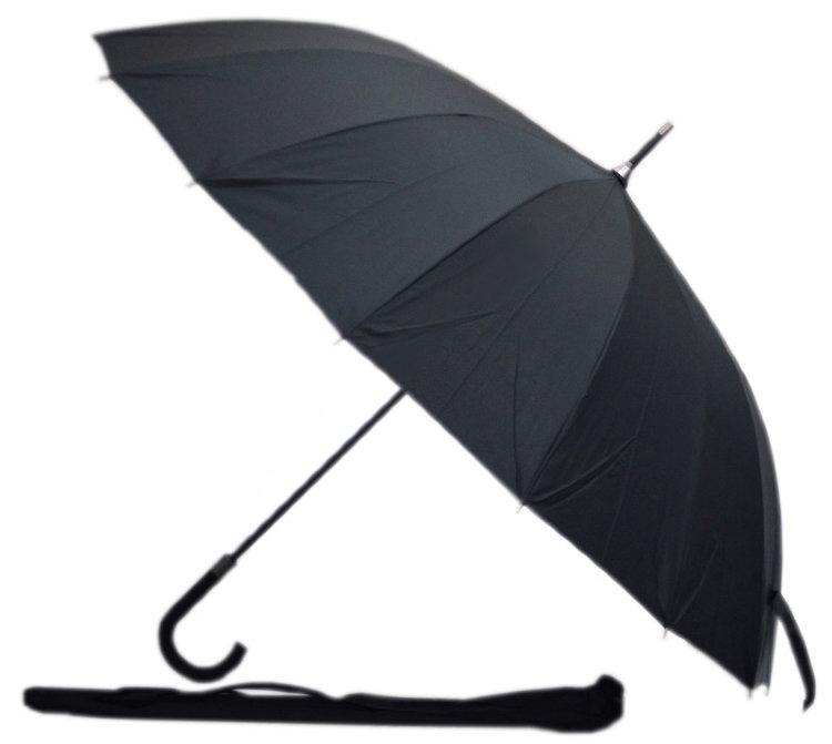 Семейный зонт-трость