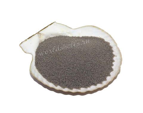 Серый цветной песок 300 гр.