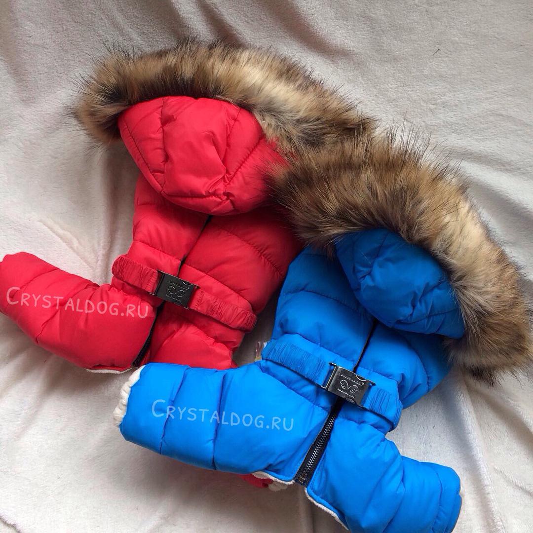 зимние комбинезоны для собак puppyangel