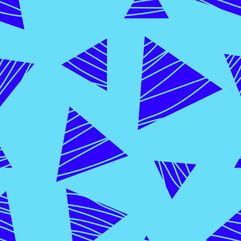 Синие треугольники