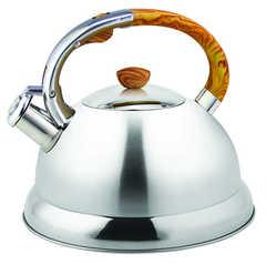 Чайник из нержавеющей стали со свистком Eurostek ESK-3068