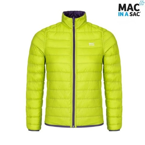 Пуховик Polar down jacket Lime Mac in a Sac