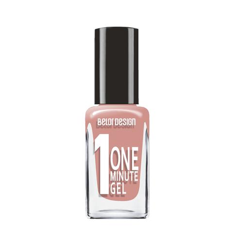 BelorDesign One Minute Gel Лак для ногтей тон 207 карамельный 10мл