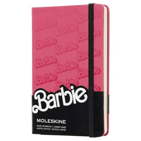 Блокнот Moleskine Limited Edition BARBIE LEBRMM710 Pocket 90x140мм 192стр. линейка Logo