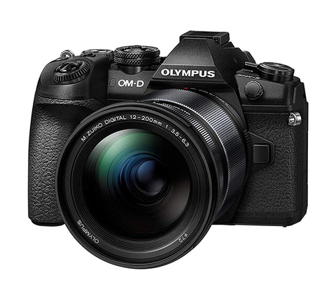 Olympus OM-D E-M1 Mark II Kit 12-200mm f 3.5-6.3 Black