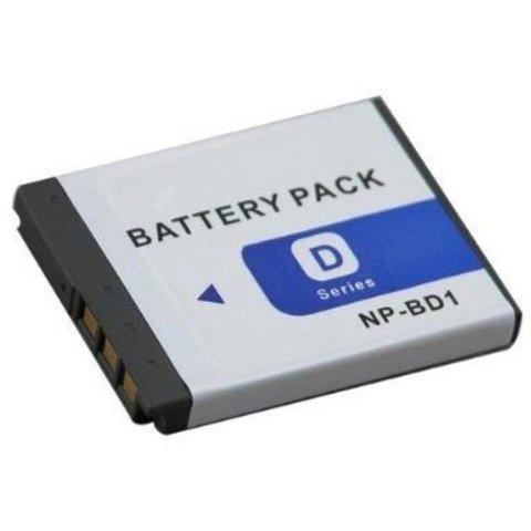 Аккумулятор Fujimi NP-BD1/FD1 для Sony CyberShot T2 T70 T200