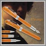 Перьевая ручка Visconti REMBRANDT корпус оранж смола отд паллад перо F сталь (VS-482-33F)