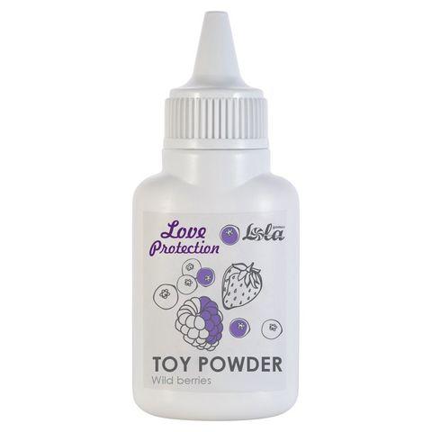 Пудра для игрушек Love Protection с ароматом лесных ягод - 15 гр.